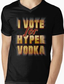 I Vote For Hypervodka Mens V-Neck T-Shirt