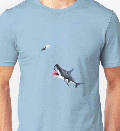 Oh Shit Shark T-Shirt Unisex T-Shirt