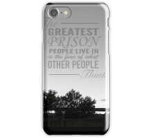 The greatest prision iPhone Case/Skin