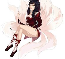Ahri Seriosly - League of Legends by lauranonce