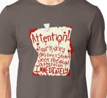 Attention! Unisex T-Shirt