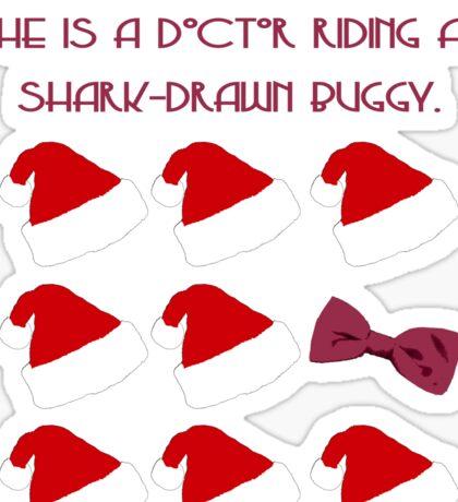 Doctor Santa - Doctor Who Sticker