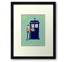 Welcome to my Tardis Framed Print