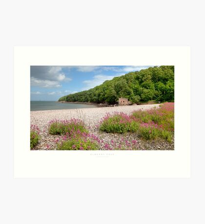 Elberry Cove, Devon Art Print