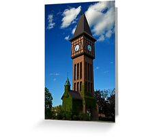 Kentucky Clock Tower Greeting Card