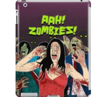 AHH!! Zombies!! iPad Case/Skin