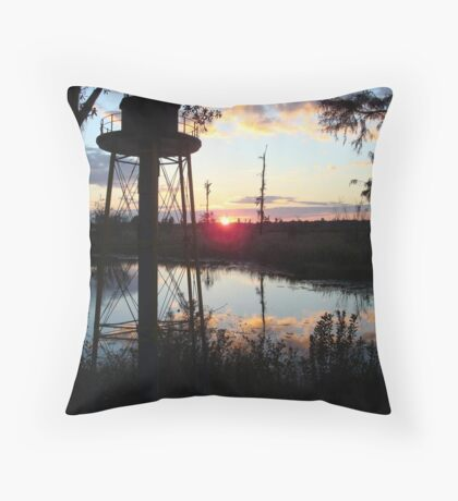COREY'S LIGHTHOUSE Throw Pillow