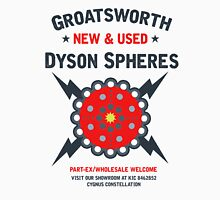 New & Used Dyson Spheres! Unisex T-Shirt