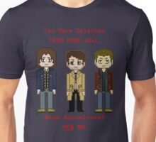 Team Free Will character select Unisex T-Shirt