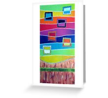 Windows to alternative Color Greeting Card