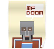 Metal Face Poster