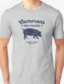 Cameron's Meat Packing #PIGGATE T-Shirt