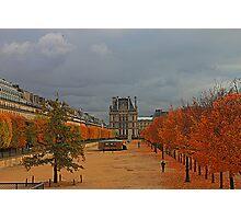 Fall In Paris Photographic Print