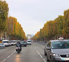 Champs Elysees by Socrates & Angela Hernandez