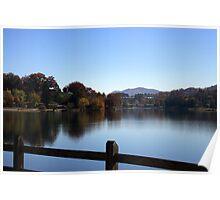 Lake Junaluska as  Evening Nears Poster