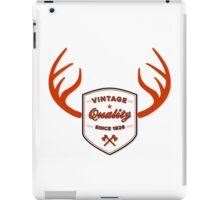 iPad Case - Vintage Quality '26  iPad Case/Skin