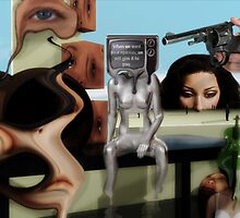 Closely monitored internet expression  by Lawrence Alfred Powell