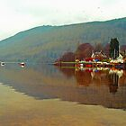 Loch Tay, Kenmore, Scotland, UK by Margaret  Hyde
