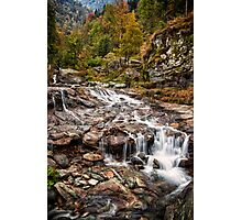 ~ the mountain stream ~ Photographic Print
