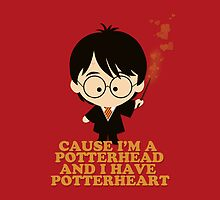 Cause I'm a Potterhead and I have Potterheart by maplehoof