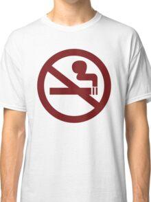 No-Smoking Classic T-Shirt