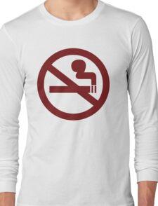 No-Smoking Long Sleeve T-Shirt
