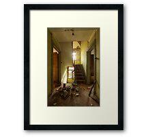 Maison des Echos Framed Print