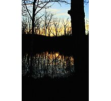 Sunset Along the River Photographic Print