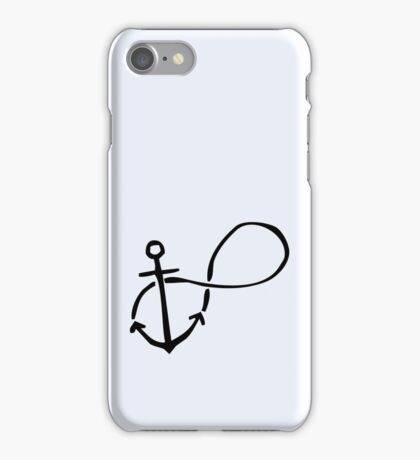 Anchored Forever iPhone Case/Skin