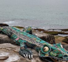 Crocodile @ Sculptures By The Sea, Sydney 2012 Sticker