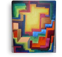 Well Of Colors Canvas Print
