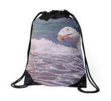 Groynes & Gulls Drawstring Bag