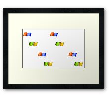 Microsoft Windows Birds Framed Print