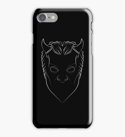 Ghost - Nameless Ghoul - lined iPhone Case/Skin