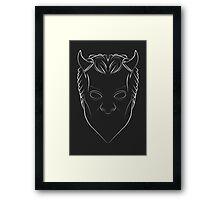 Ghost - Nameless Ghoul - lined Framed Print