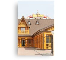 Beer pub Canvas Print