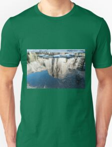 Reflection of El Capitan mountain, Yosemite national Park, California USA T-Shirt