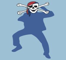 ★ټPirate Skull Style Hilarious Clothing & Stickersټ★ One Piece - Short Sleeve