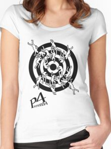 Persona 4 Midnight Channel Shirt Women's Fitted Scoop T-Shirt