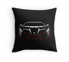Veneno sports car Throw Pillow