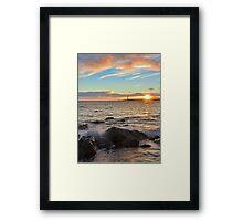 Barns Ness Winter Sunrise Framed Print