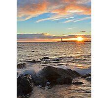 Barns Ness Winter Sunrise Photographic Print
