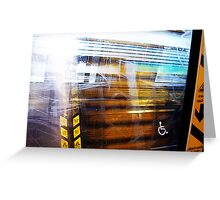 Train Filter - 21 11 12 Greeting Card