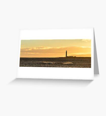 Barns Ness Seascape Greeting Card