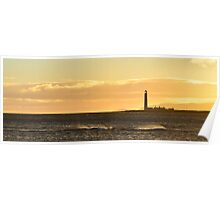 Barns Ness Seascape Poster