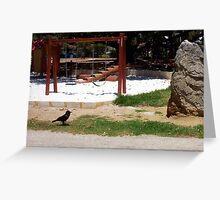 Crow - 23 11 12 Greeting Card