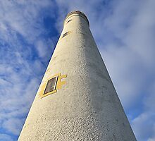 Barns Ness Lighthouse Tower by Allan Kelly