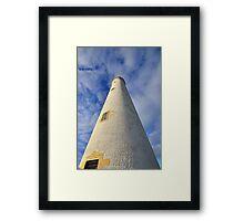 Barns Ness Lighthouse Tower Framed Print
