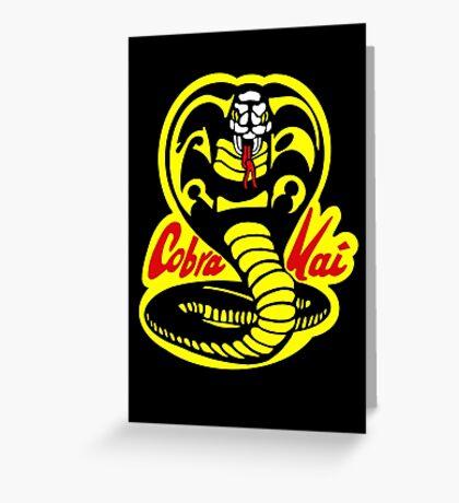 Cobra Kai - The Karate Kid Greeting Card