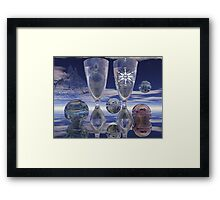Cheers!, surrealistic / fantasy artwork with drinks Framed Print